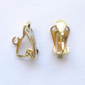 Gold Plated Ear Clip - 1 Pair