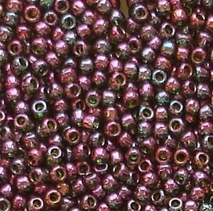 Toho 11/0 Seed Beads, Gold Lustred Orion 326 - 10 grams